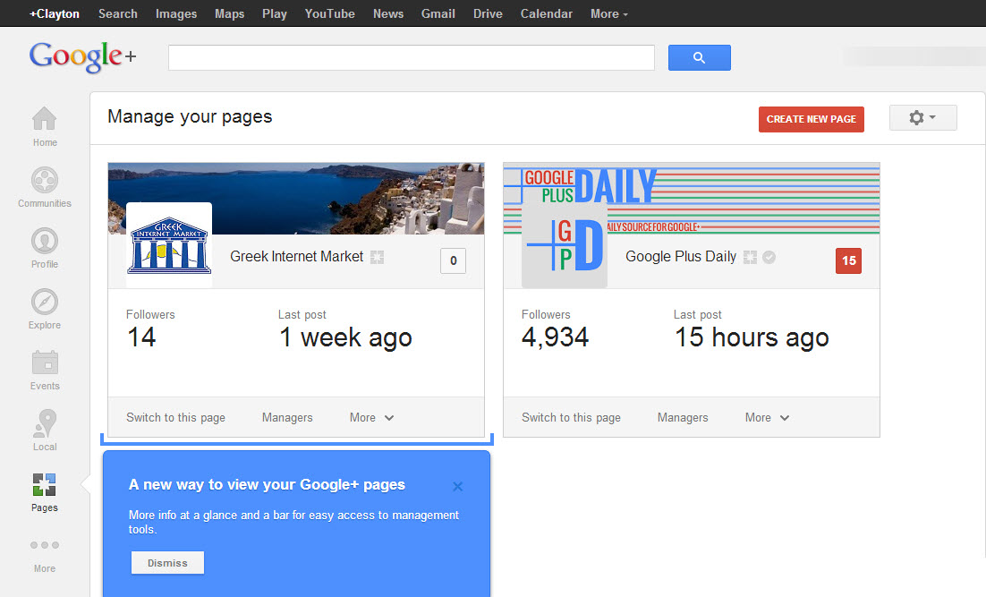 New-Google-Plus-Page-Manager